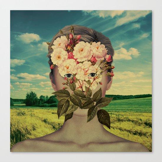 A Flower Girl 2 Canvas Print