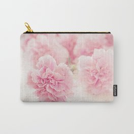 Pale Pink Carnations 2 Carry-All Pouch