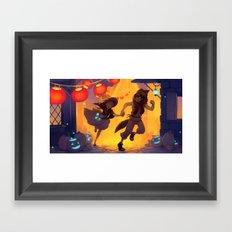 Harvest Festival Framed Art Print