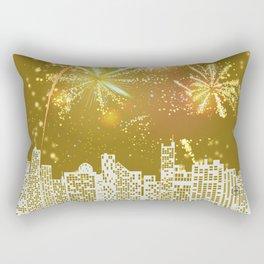 New Years Eve Series  Rectangular Pillow