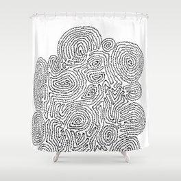 A Tortoise-Tree Shower Curtain