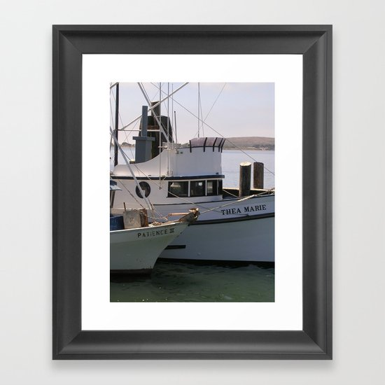 Patience Marie... Framed Art Print