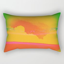 Signs in the Sky Collection - Rising Sun Rectangular Pillow