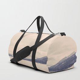 Winter Mountain Duffle Bag