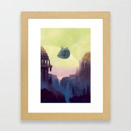 Old Worlds Framed Art Print