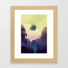 Old Worlds Framed Art Print