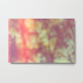 Bokeh background 102 Metal Print