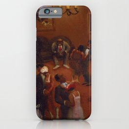 African-American Classical Masterpiece Harlem Dance Hall by Archibald Motley iPhone Case