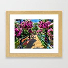Camden Flowers Framed Art Print