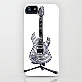 Dormouse Guitar iPhone Case