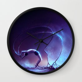 We are dancing in our chains Wall Clock
