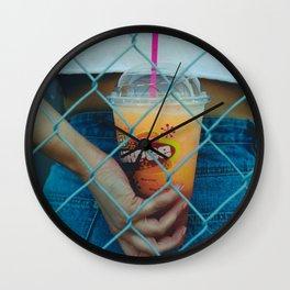 Summertime Slurpee Wall Clock