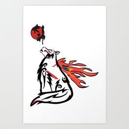 Amaterasu Art Print