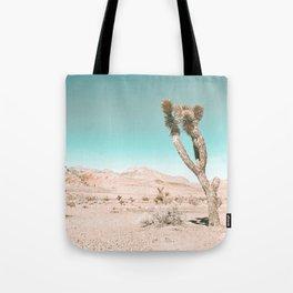 Vintage Desert Scape // Cactus Nature Summer Sun Landscape Photography Tote Bag