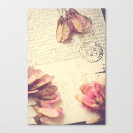 Victoria 1946 - Love Letter Canvas Print