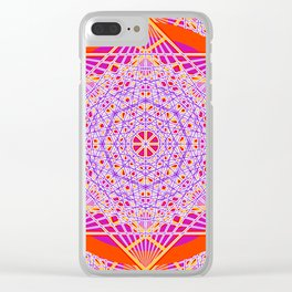 Temple Bell Vibrations Clear iPhone Case