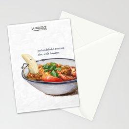 La Cuisine Fusion - Malandrinho Tomato Rice with Banana Stationery Cards