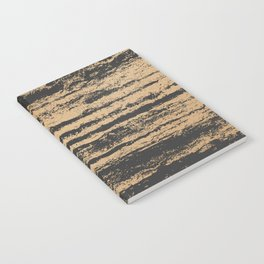 Marble Black Gold - N.O Notebook