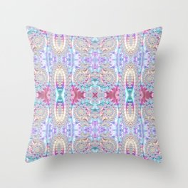 Symmetrical Design // Geometric Art // 2021_002 Throw Pillow