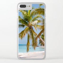 los roques secret Clear iPhone Case