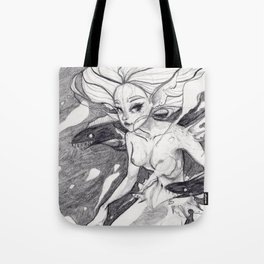 Sea Witch Tote Bag