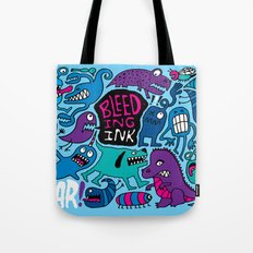 More Monsters Tote Bag