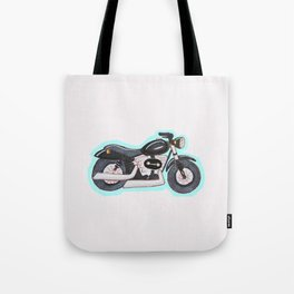 Mini Motorcycle Tote Bag