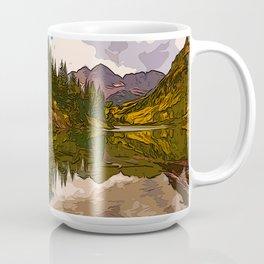 The Wonderful Maroon Bells in Autumn Coffee Mug