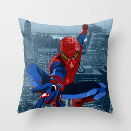 Amazing Spider-Man (Comic Title) Throw Pillow