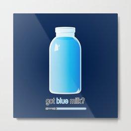 Blue milk | Star Wars Metal Print