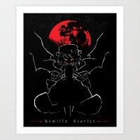 Remilla Scarlet Art Print