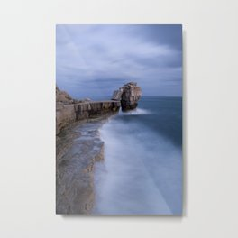Portland Bill Seascapes Metal Print