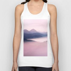 Foggy Mountains II Unisex Tank Top