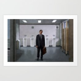 Jimmy McGill At The Courthouse From Breaking Bad And Better Call Saul Art Print