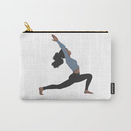 Yoga Girl Blue II Carry-All Pouch