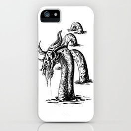 Scarred Serpent iPhone Case