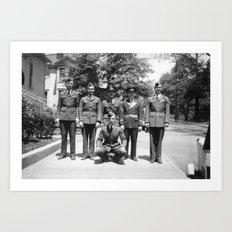 Cadets Art Print