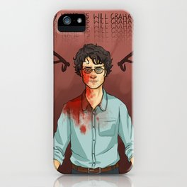 My Name Is Will Graham iPhone Case
