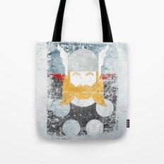 God of thunder grunge superhero Tote Bag