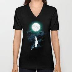Burn the midnight oil Unisex V-Neck