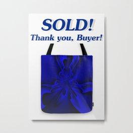 Sold - Midnight Blue 6 Metal Print