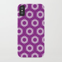 Abstract Stars Pattern iPhone Case