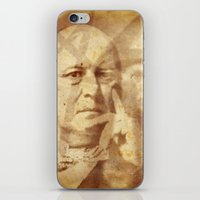 crowley iPhone & iPod Skins featuring Mr. Crowley by Rodrigo Grola
