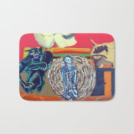 Halloween Still Bath Mat