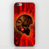 anarchy iPhone & iPod Skins featuring ANARCHY - 005 by Lazy Bones Studios