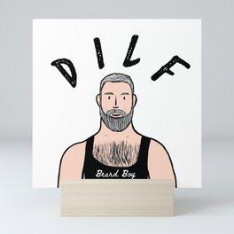 Beard Boy: DILF Mini Art Print