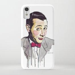 Pee Wee iPhone Case