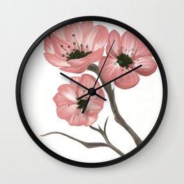 Cherry Blossom 2 Wall Clock