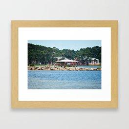 Port St. Joe Marina view 12 Framed Art Print