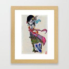 dayummm Framed Art Print